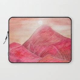 Lines in the mountains XXIII Laptop Sleeve