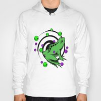 frog Hoodies featuring Frog  by Michael P. Moriarty