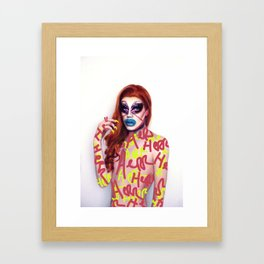 HERR Framed Art Print