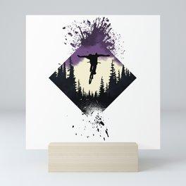 Forest Rider Mini Art Print