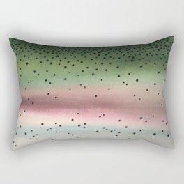 Rainbow Trout Rectangular Pillow