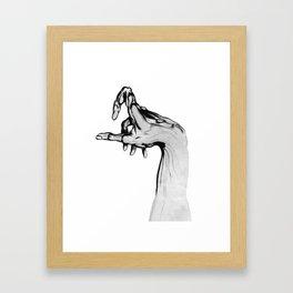 Muscle and Bone Framed Art Print