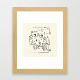 Out Of The Box Framed Art Print