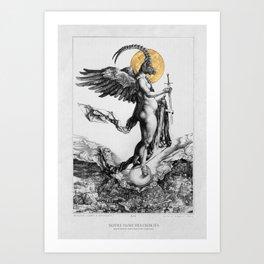 notre dame des oubliés - our lady of the forgotten Art Print