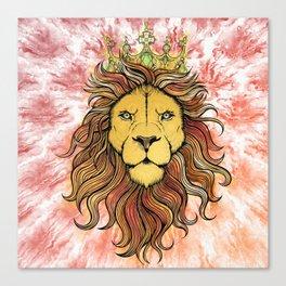 King The Lion Canvas Print