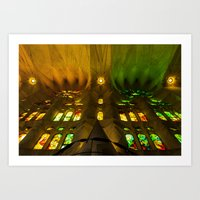 Sagrada Familia #8 Art Print