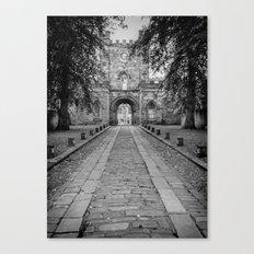 Durham Castle England Canvas Print