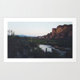 Desert Awakening Art Print