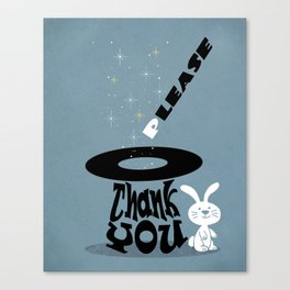 Magic Words Canvas Print