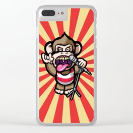 Ape Mic Clear iPhone Case