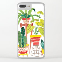Jungalow Clear iPhone Case