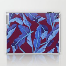 Tropical '17 - Blue Bird Of Paradise [Banana Leaves] Laptop & iPad Skin