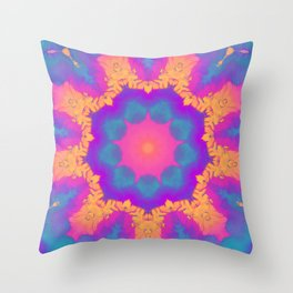 Entheogen V.2 Throw Pillow