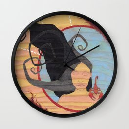 Scorpio, the Scorpion Wall Clock