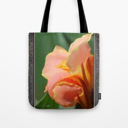 Dwarf Canna Lily named Corsica Tote Bag