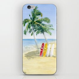 Tropical View iPhone Skin