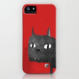 Mystical Cat iPhone Case