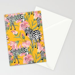 Poster Background | Striped For Life Stationery Cards