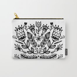 floral repeat 001 Carry-All Pouch