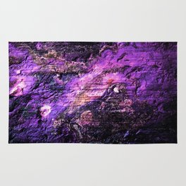 Purple Pink Cave Wall Texture Rug