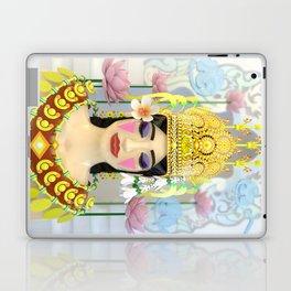 The Meditating Apsara Laptop & iPad Skin