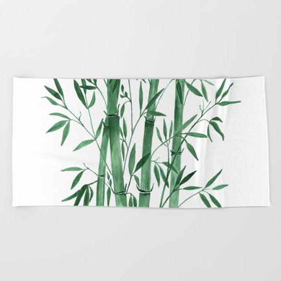 Bamboo 1 Beach Towel