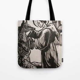 Compassion for a werewolf Tote Bag
