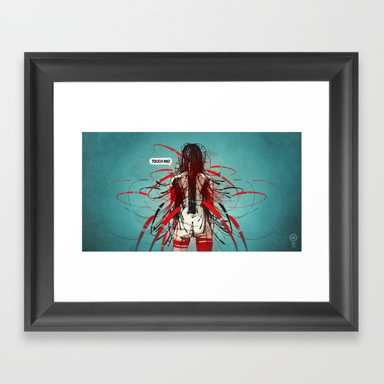Nymph III: Exclusive Framed Art Print