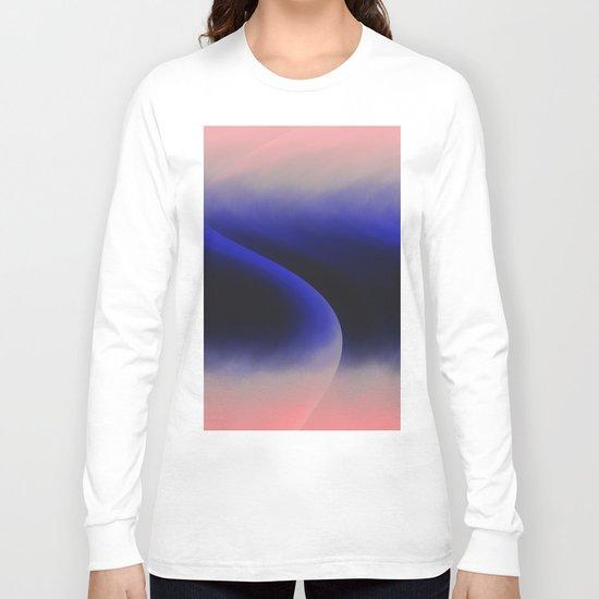 Pink abstract Long Sleeve T-shirt