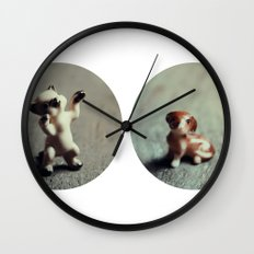 Cats & Dogs Wall Clock