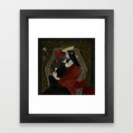 Vampire Lovers Framed Art Print