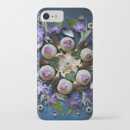 Nature Mandala: April II iPhone Case