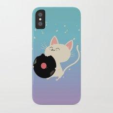I can't get nooooo catisfaction iPhone X Slim Case