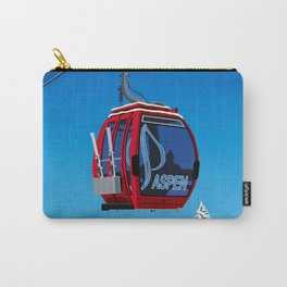 Aspen Colorado Ski Resort Cable Car Carry-All Pouch