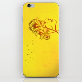 Fleeting Thoughts iPhone Skin