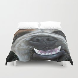 Make My Day English Bulldog Original Duvet Cover