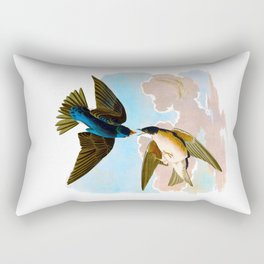 White-bellied Swallow Bird Rectangular Pillow