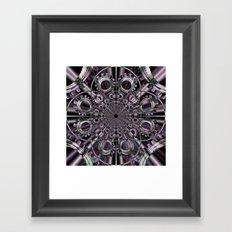 ENGRENAGES Framed Art Print