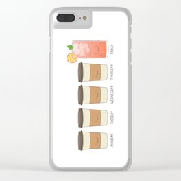 Happy friday! Clear iPhone Case