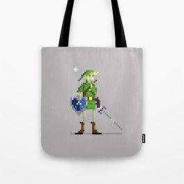 Pixel Link Tote Bag