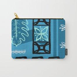 Hawaiian Pattern #1 - aqua! Carry-All Pouch