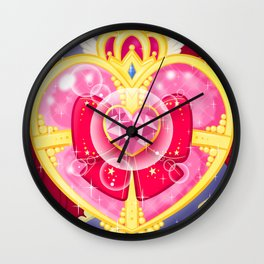 Magical Girl At Heart Wall Clock