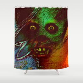 Horrible Dream Shower Curtain