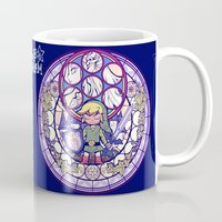 legend of zelda Mugs featuring The Legend Of Zelda by NicoleGrahamART