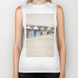 Cabins In The Sand Biker Tank