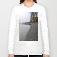 marine Long Sleeve T-shirts featuring shore marine by  Agostino Lo Coco