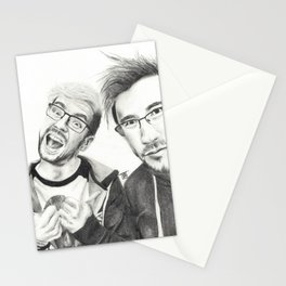 Markiplier and Jacksepticeye Stationery Cards