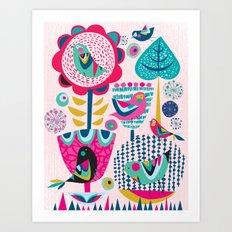 Gathering Art Print