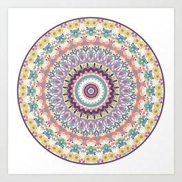 Bloom Mandala Art Print