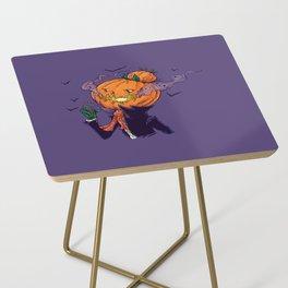 The Pumpkin Bun Side Table